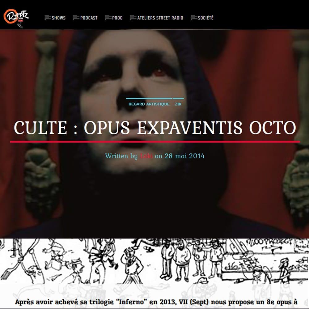 Chronique Culte RAPTZ