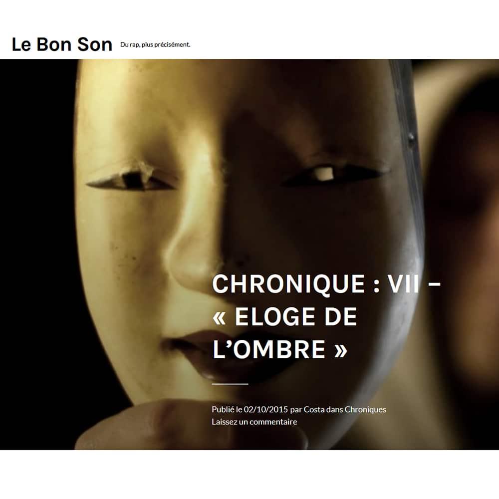Chronique Eloge LEBONSON