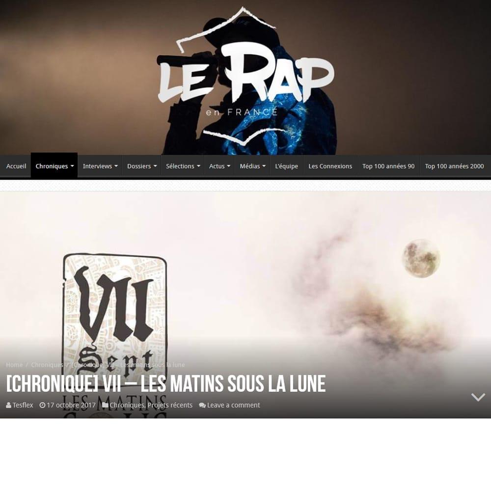 Chronique Les Matins LERAPENFRANCE