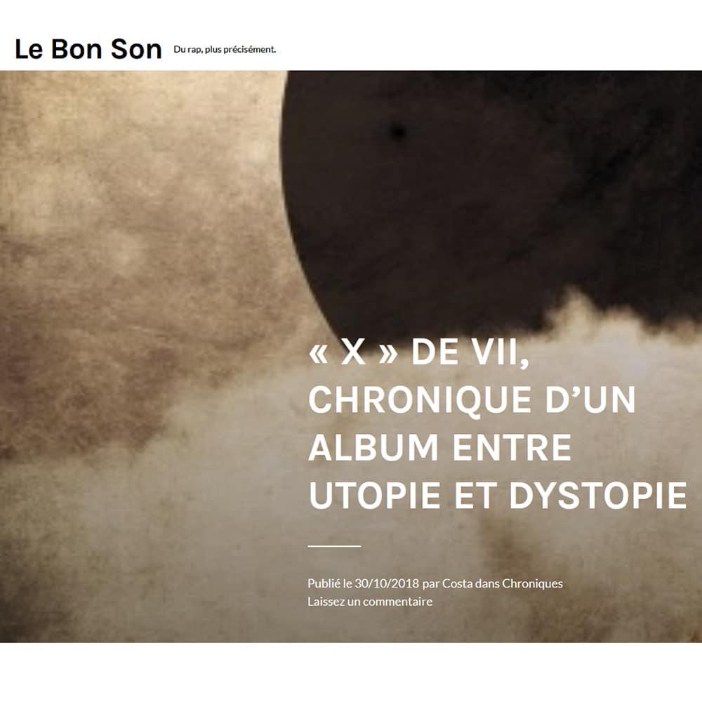 Chronique X LEBONSON