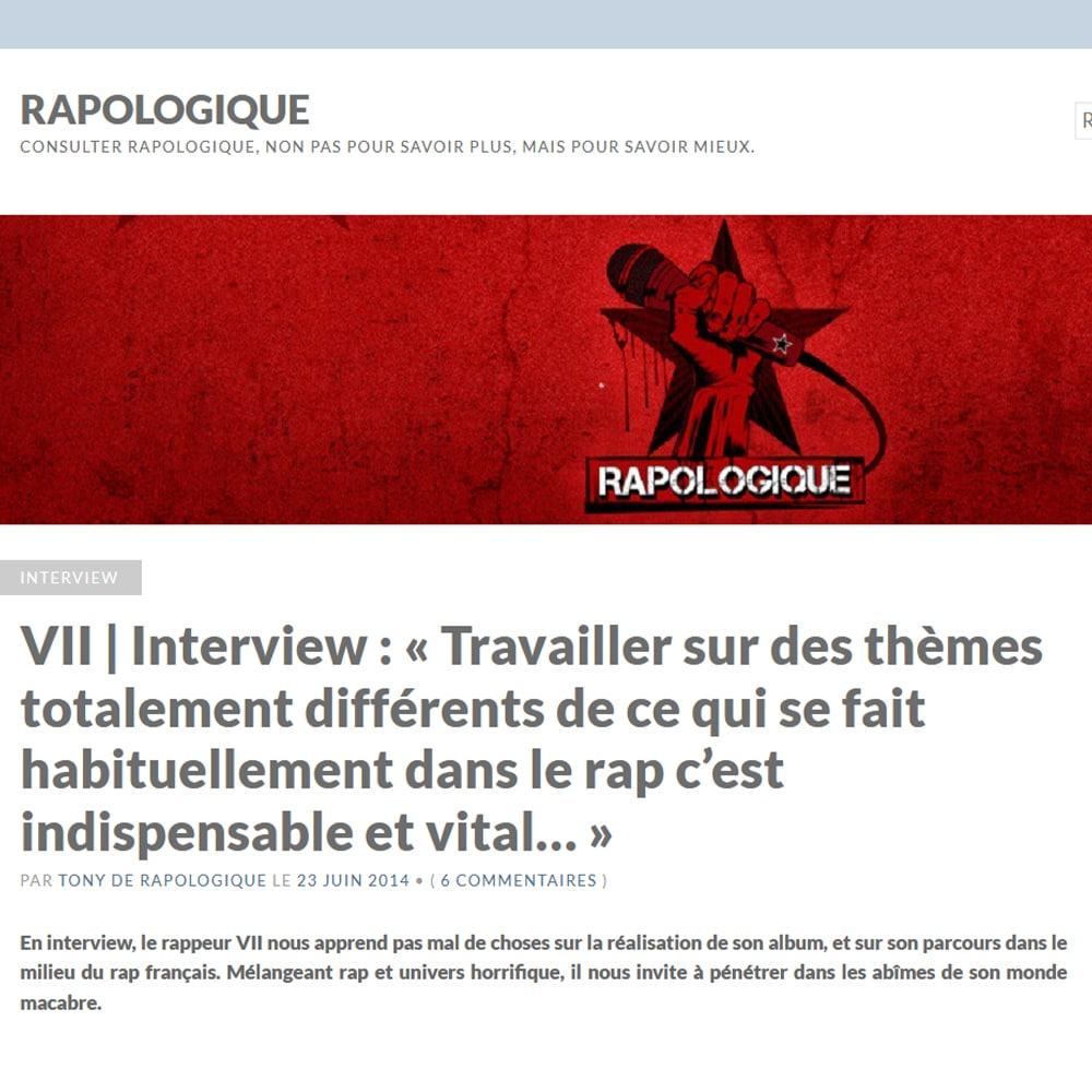 Interview Culte RAPOLOGIQUE